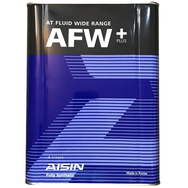 تصویر روغن گیربکس خودرو آیسین مدل AFW-PLUS ظرفیت 4 لیتر Aisin AFW-PLUS Gearbox Oil 4L